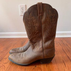 Ariat Women's Heritage R Toe Western Cowboy Boot